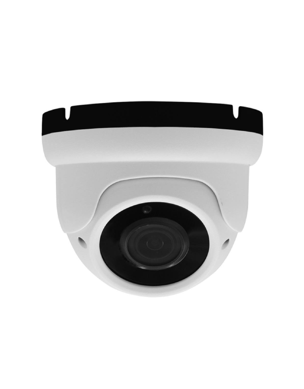 200万画素IP-POE赤外線スターライトVF防破壊型ドームカメラ2.8-12mm