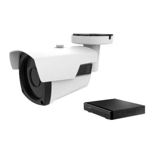 IP(ネットワーク)防犯カメラ 1台セット(レコーダ:安価タイプ)/IP1dai-3